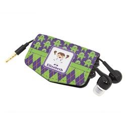 Astronaut, Aliens & Argyle Genuine Leather Cord Wrap (Personalized)