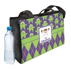 Astronaut, Aliens & Argyle Ladies Workout Bag (Personalized)