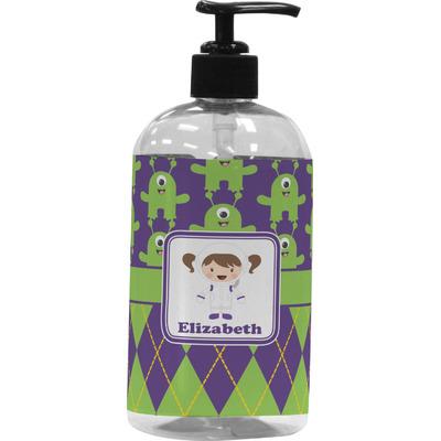 Astronaut, Aliens & Argyle Plastic Soap / Lotion Dispenser (16 oz - Large) (Personalized)