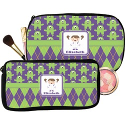 Astronaut, Aliens & Argyle Makeup / Cosmetic Bag (Personalized)