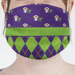 Astronaut, Aliens & Argyle Face Mask Cover (Personalized)
