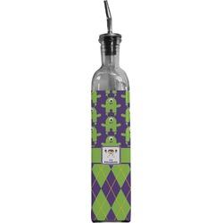 Astronaut, Aliens & Argyle Oil Dispenser Bottle (Personalized)