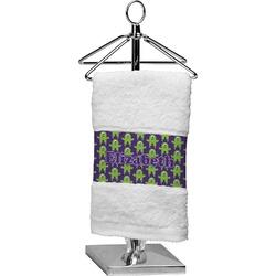 Astronaut, Aliens & Argyle Cotton Finger Tip Towel (Personalized)