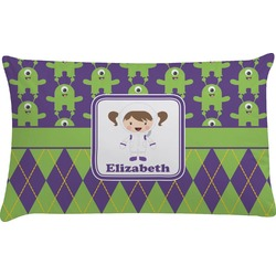 Astronaut, Aliens & Argyle Pillow Case (Personalized)