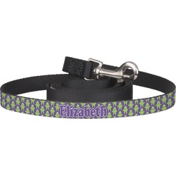 Astronaut, Aliens & Argyle Pet / Dog Leash (Personalized)