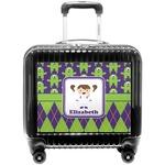 Astronaut, Aliens & Argyle Pilot / Flight Suitcase (Personalized)