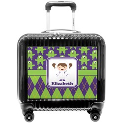 Astronaut, Aliens & Argyle Pilot / Flight Suitcase (Personalized)