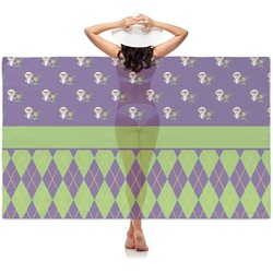 Astronaut, Aliens & Argyle Sheer Sarong (Personalized)