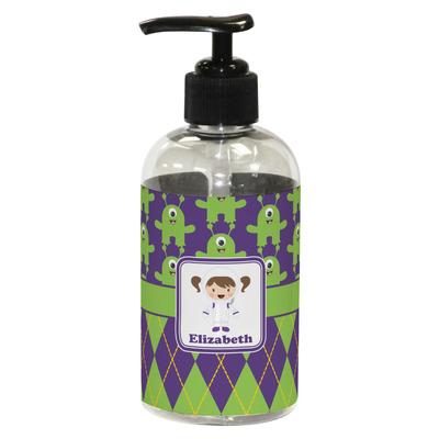 Astronaut, Aliens & Argyle Plastic Soap / Lotion Dispenser (8 oz - Small) (Personalized)