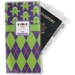 Astronaut, Aliens & Argyle Travel Document Holder