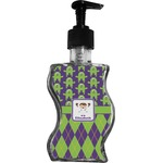 Astronaut, Aliens & Argyle Wave Bottle Soap / Lotion Dispenser (Personalized)