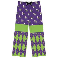 Astronaut, Aliens & Argyle Womens Pajama Pants (Personalized)