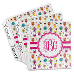 Girly Monsters 3-Ring Binder (Personalized)