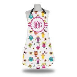 Girly Monsters Apron (Personalized)