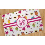 Girly Monsters Area Rug (Personalized)