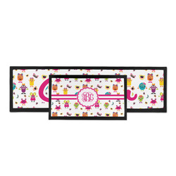 Girly Monsters Bar Mat (Personalized)