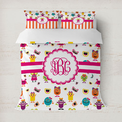 Girly Monsters Duvet Covers (Personalized)