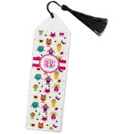 Girly Monsters Book Mark w/Tassel (Personalized)