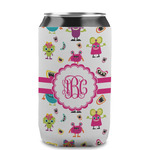 Girly Monsters Can Sleeve (12 oz) (Personalized)