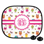 Girly Monsters Car Side Window Sun Shade (Personalized)