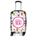 Girly Monsters Suitcase (Personalized)