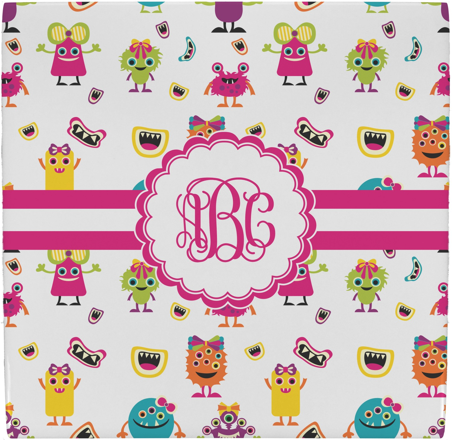 Girly monsters ceramic tile hot pad personalized youcustomizeit girly monsters ceramic tile hot pad personalized dailygadgetfo Choice Image