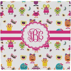 Girly Monsters Ceramic Tile Hot Pad (Personalized)