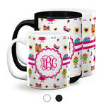 Girly Monsters Coffee Mugs (Personalized)
