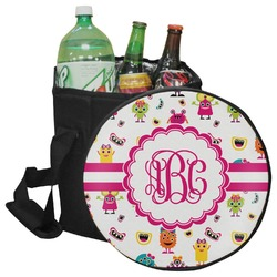 Girly Monsters Collapsible Cooler & Seat (Personalized)