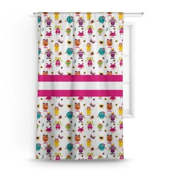 Girly Monsters Curtain (Personalized)