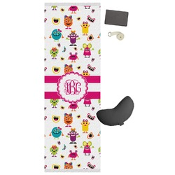 Girly Monsters Yoga Mat (Personalized)