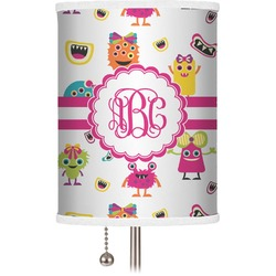 Girly Monsters Drum Lamp Shade (Personalized)