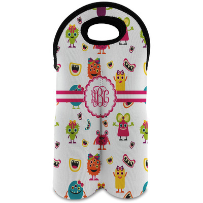 Girly Monsters Wine Tote Bag (2 Bottles) (Personalized)