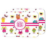 Girly Monsters Dish Drying Mat (Personalized)
