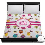 Girly Monsters Duvet Cover (Personalized)