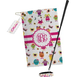 Girly Monsters Golf Towel Gift Set (Personalized)