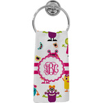 Girly Monsters Hand Towel - Full Print (Personalized)