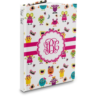 Girly Monsters Hardbound Journal (Personalized)