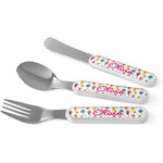 Girly Monsters Kid's Cutlery (Personalized)