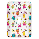 Girly Monsters Light Switch Covers (Personalized)