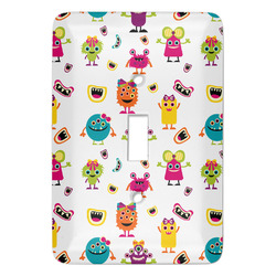 Girly Monsters Light Switch Covers - Multiple Toggle Options Available (Personalized)