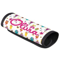 Girly Monsters Luggage Handle Cover (Personalized)