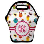 Girly Monsters Lunch Bag w/ Monogram