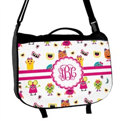 Girly Monsters Messenger Bag (Personalized)