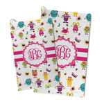 Girly Monsters Microfiber Golf Towel (Personalized)