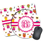 Girly Monsters Mouse Pads (Personalized)