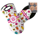 Girly Monsters Neoprene Oven Mitt (Personalized)
