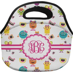 Girly Monsters Lunch Bag (Personalized)
