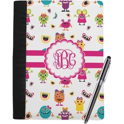 Girly Monsters Notebook Padfolio (Personalized)
