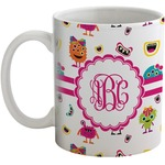 Girly Monsters Coffee Mug (Personalized)